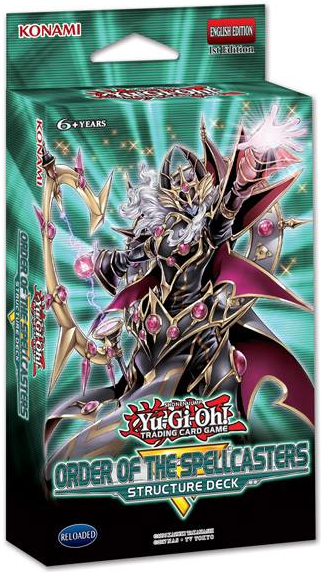 Buy Yugioh - Order Of The Spellcasters Structure Deck and more Great Yugioh Products at 401 Games