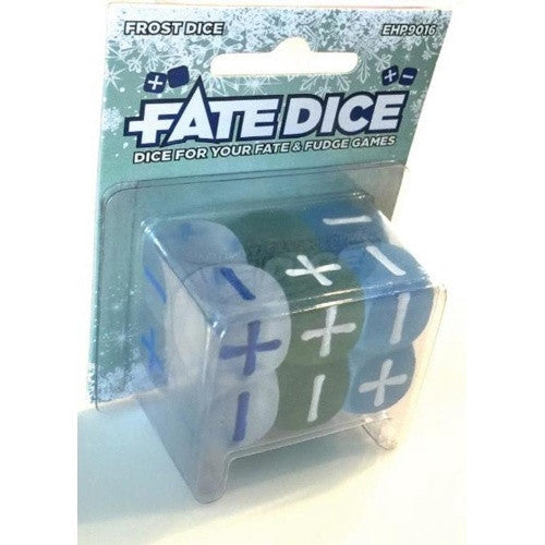 Fate Dice - Dice Set - Frost available at 401 Games Canada