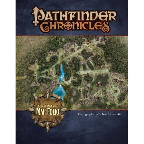Buy Pathfinder - Campaign Setting - Second Darkness Poster Map Folio and more Great RPG Products at 401 Games