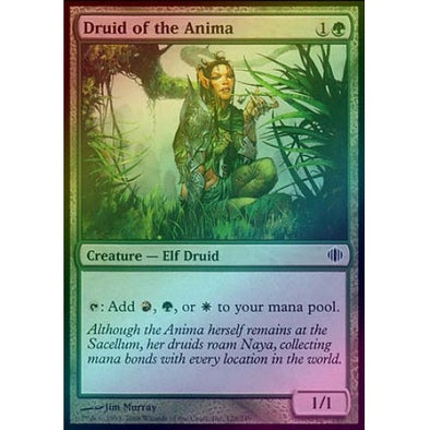 Druid of the Anima (Foil) (ALA) available at 401 Games Canada