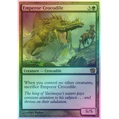 Emperor Crocodile (Foil) available at 401 Games Canada