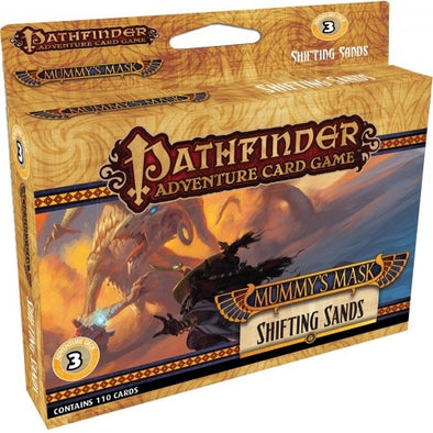 Pathfinder Adventure Card Game - Mummy's Mask - Shifting Sands Adventure Deck - 401 Games