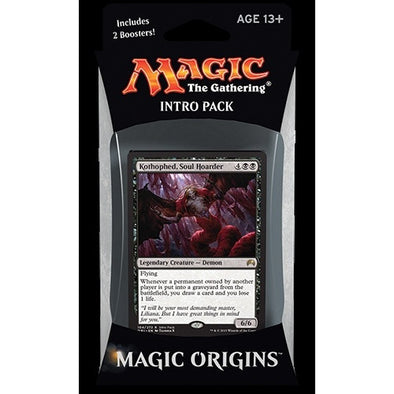 Buy MTG - Origins - Intro Pack - Demonic Deals and more Great Magic: The Gathering Products at 401 Games