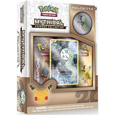 Pokemon - Mythical Collection Meloetta (Generations) - 401 Games