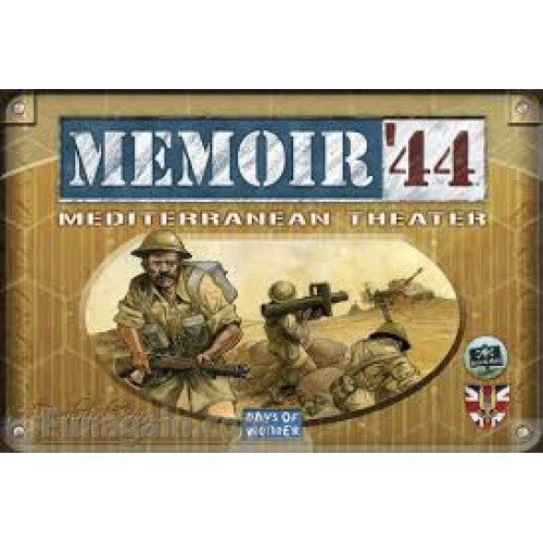 Memoir '44 - Mediterranean Theater available at 401 Games Canada