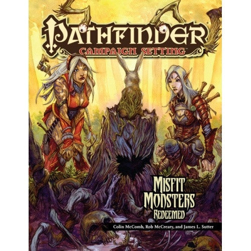 Pathfinder - Campaign Setting - Misfit Monsters Redeemed - 401 Games