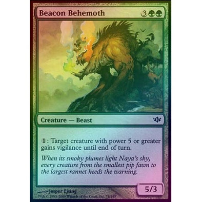 Beacon Behemoth (Foil) (CON) - 401 Games
