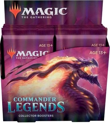 MTG - Commander Legends - Collector Booster Box (Pre-Order Delayed Until Nov. 20) - 401 Games