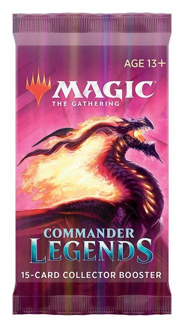 MTG - Commander Legends - Collector Booster Pack (Pre-Order Delayed Until Nov. 20) - 401 Games