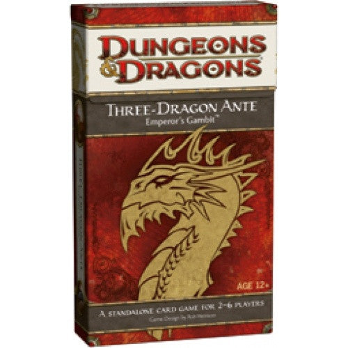 Dungeons & Dragons - Three-Dragon Ante - 401 Games