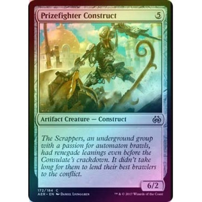 Prizefighter Construct (Foil) (AER) available at 401 Games Canada