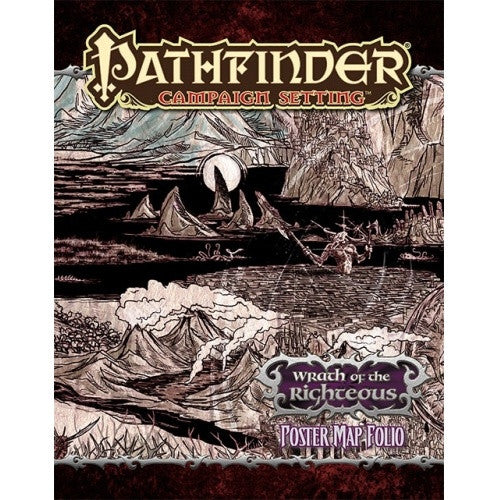 Pathfinder - Campaign Setting - Wrath Of The Righteous Poster Map Folio - 401 Games
