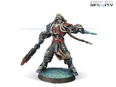 Infinity - Combined Army - Kornak Gazarot, Superior Warrior-Officer available at 401 Games Canada