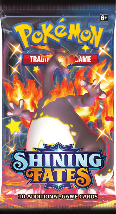 Pokemon - Shining Fates - Booster Pack available at 401 Games Canada