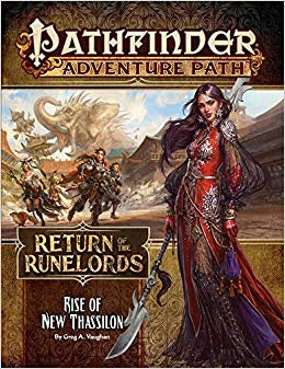 Buy Pathfinder - Adventure Path - #138 Rise of New Thassilon (Return of the Runelords 6 of 6) and more Great RPG Products at 401 Games