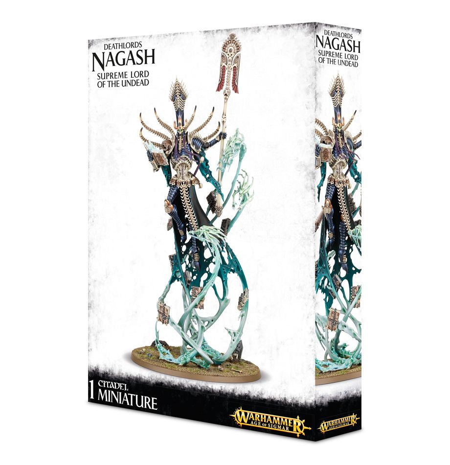 Warhammer - Age of Sigmar - Legions of Nagash - Nagash - Supreme Lord of  the Undead