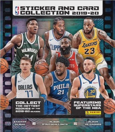 2019-20 Panini NBA Sticker and Card Collection Album - 401 Games