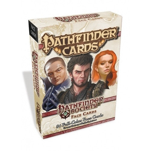 Buy Pathfinder - Cards - Pathfinder Society Face Cards and more Great RPG Products at 401 Games