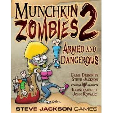 Munchkin Zombies 2: Armed And Dangerous available at 401 Games Canada