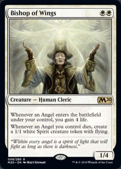 Bishop of Wings (M20) - 401 Games