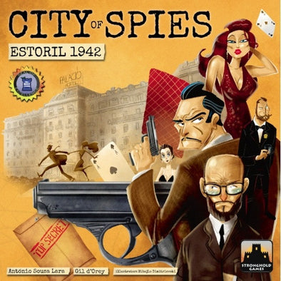 City of Spies - Estoril 1942 - 401 Games