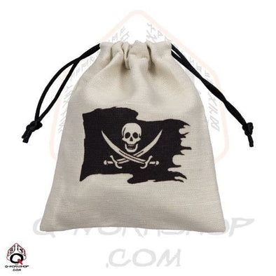 Q-Workshop - Dice Bag - Pirate - 401 Games