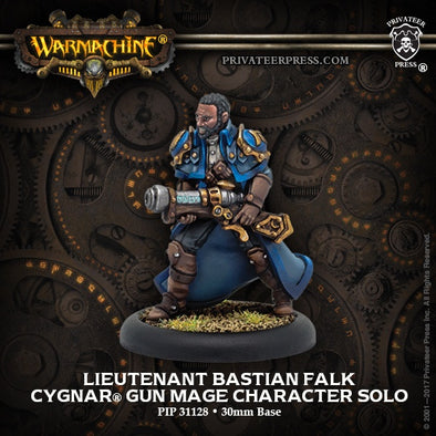Buy Warmachine - Cygnar - Bastian Falk and more Great Tabletop Wargames Products at 401 Games
