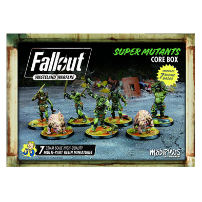 Buy Fallout - Wasteland Warfare - Super Mutants - Core Box and more Great Tabletop Wargames Products at 401 Games
