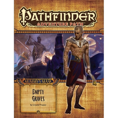 Buy Pathfinder - Adventure Path - #80: Empty Graves (Mummy's Mask 2 of 6) and more Great RPG Products at 401 Games