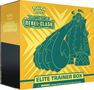 Pokemon - Rebel Clash Elite Trainer Box available at 401 Games Canada