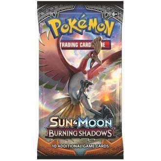 Pokemon - Burning Shadows Booster Pack available at 401 Games Canada
