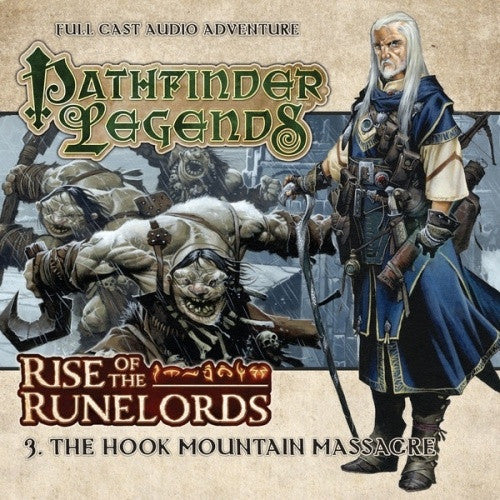 Buy Pathfinder - Audio CD - Rise of the Runelords 3:The Hook Mountain Massacre and more Great RPG Products at 401 Games