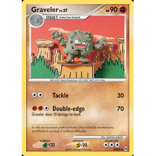 Graveler - 37/99 available at 401 Games Canada
