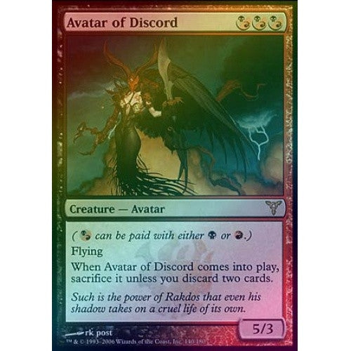 Avatar of Discord (Foil) (DIS) - 401 Games