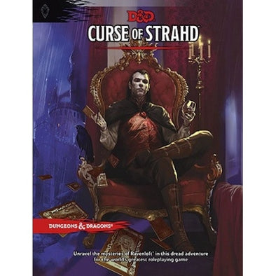 Buy Dungeons & Dragons - 5th Edition - Curse of Strahd and more Great RPG Products at 401 Games