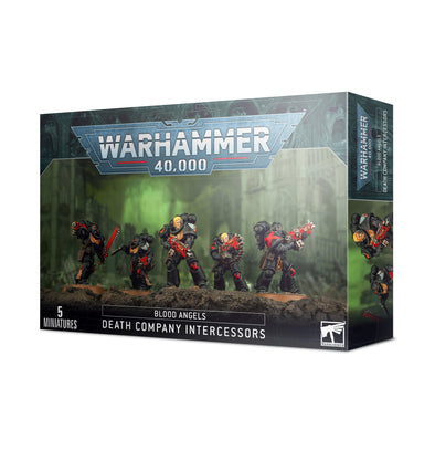 Warhammer 40,000 - Blood Angels - Death Company Intercessors available at 401 Games Canada