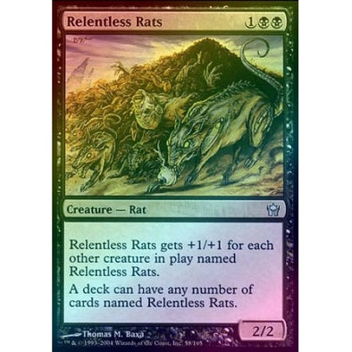 Relentless Rats (Foil) (5DN) available at 401 Games Canada