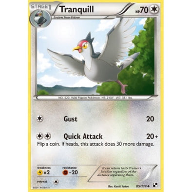 Tranquill - 85/114 - 401 Games