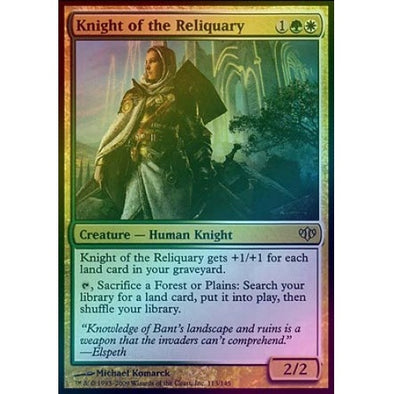 Knight of the Reliquary (Foil) (CON) available at 401 Games Canada