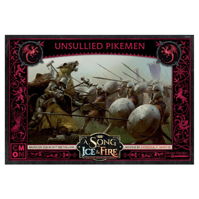 A Song of Ice and Fire - Tabletop Miniatures Game - House Targaryen - Unsullied Pikemen (Pre-Order)