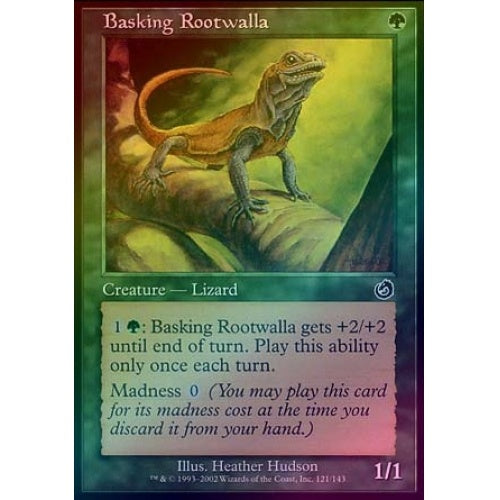 Basking Rootwalla (Foil) - 401 Games