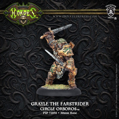 Hordes - Circle Orboros - Grayle the Farstrider - 401 Games