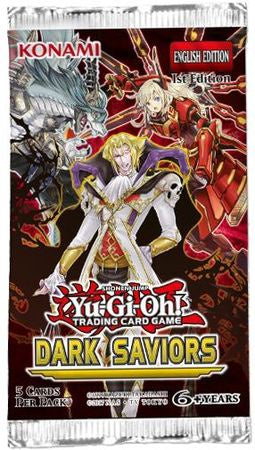 Yugioh - Dark Saviors Booster Pack - Unlimited available at 401 Games Canada