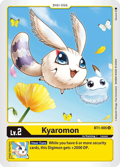 Kyaromon (BT1-005) available at 401 Games Canada