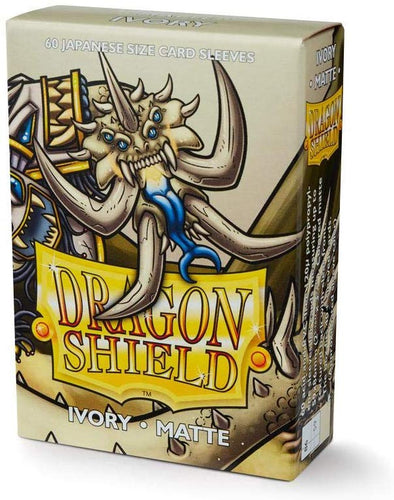 Dragon Shield - 60ct Japanese Size - Ivory Matte - 401 Games