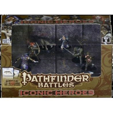 Pathfinder Battles - Iconic Heroes - Set 5 - 401 Games