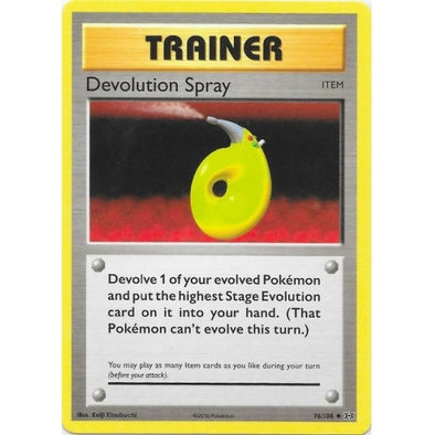 Buy Devolution Spray - 76/108 and more Great Pokemon Products at 401 Games