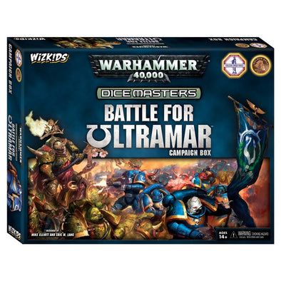 Buy Dice Masters - Warhammer 40,000 - Battle for Ultramar Campaign Box and more Great Dice Masters Products at 401 Games