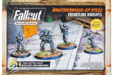 Buy Fallout - Wasteland Warfare - Brotherhood of Steel - Frontline Knights and more Great Tabletop Wargames Products at 401 Games