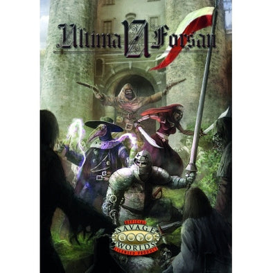 Buy Savage Worlds - Ultima Forsan and more Great RPG Products at 401 Games